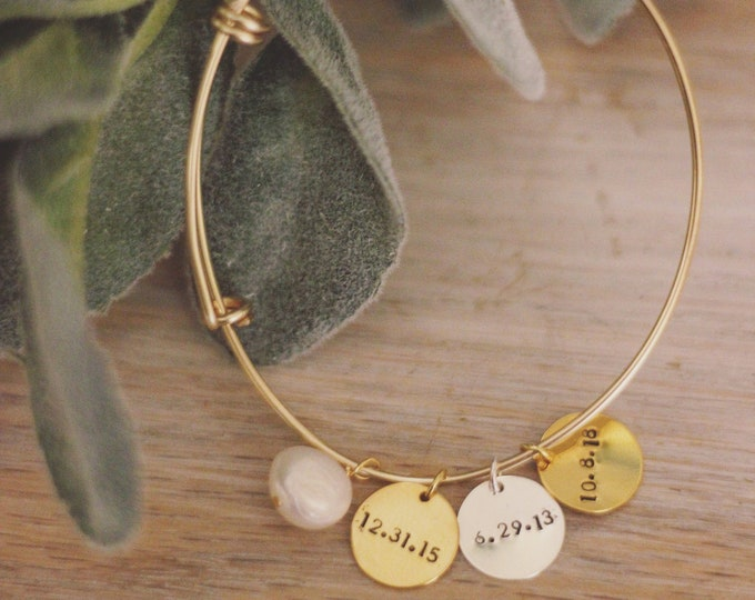 Name and date Bangle