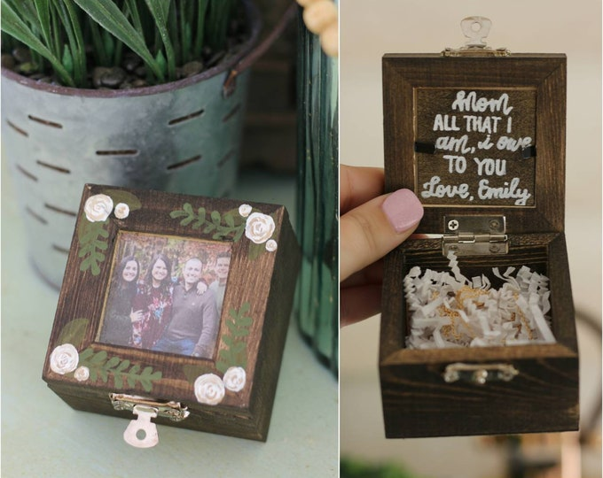 Mother Necklace with Keepsake Box