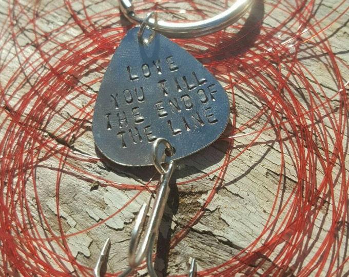 Fishing Lure Keychain Gift