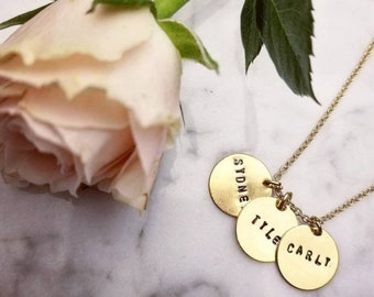 The Name Charm Necklace