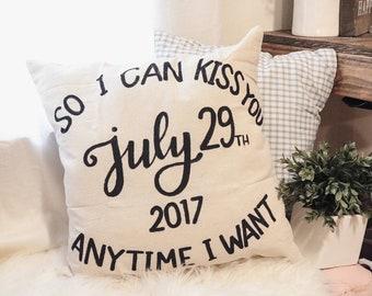 Sale! Cotton Anniversary Pillow