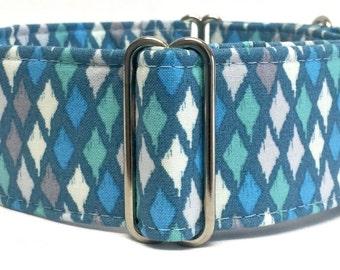 "Martingale Collar / Dog Collar / Greyhound / 1.5"" Martingale / 2"" Martingale / Sighthound collar / Galgo / Whippet / Gift for dog lover"