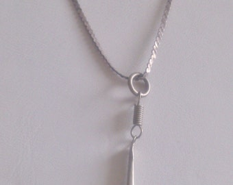 "Sterling 20"" Chain with an Obelisk"