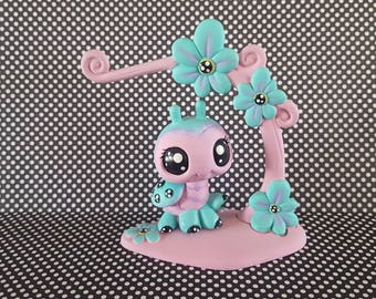 Lucy Ladybug Set Lot OOAK Custom Littlest Pet Shop Repaint LPS