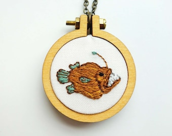 Angler Fish Necklace
