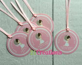 First Communion Favor Tags