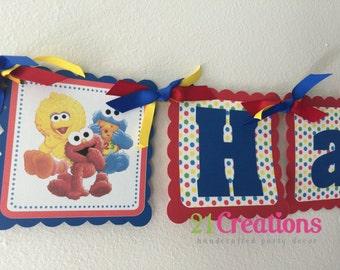 Sesame Street Party Banner