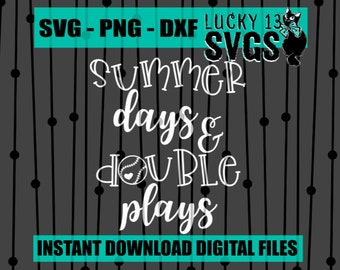733963239f6f Summer Days   Double Plays - SVG