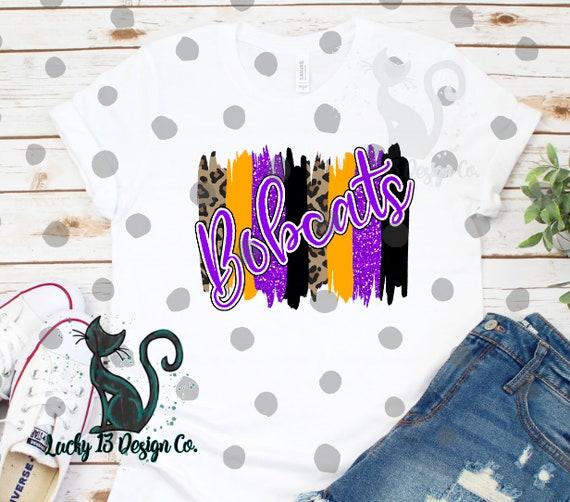 Ready to Press Shirt Design |Cheetah Leopard Sublimation Transfer Maroon Bobcats Baseball