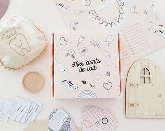 Little mouse passage kit, child milk teeth, little mouse gift, pillow gift, little mouse, milk teeth