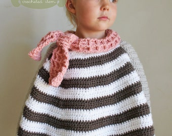 Crochet PATTERN: The River Hooded Shawl-Toddler Child & Adult   Etsy
