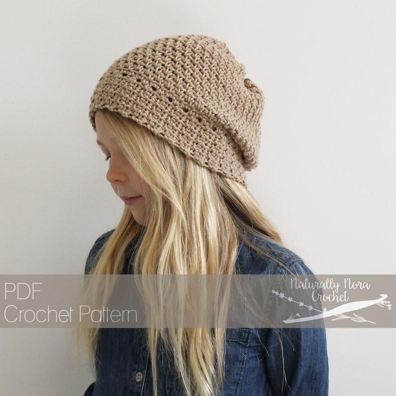 eca6a1aa5dd Crochet Pattern  The Oats and Honey Beret Toddler Child