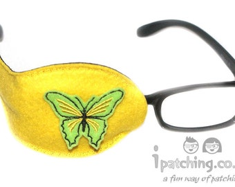Kids and Adults Orthoptic Eye Patch For Amblyopia Lazy Eye Occlusion Therapy Treatment Butterfly Design