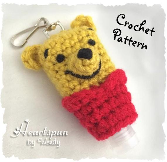 Crochet Pattern To Make A Winnie The Pooh Hand Sanitizer