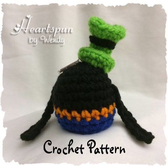 Crochet Pattern To Make A Disney Goofy Eos Lip Balm Holder