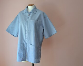 Barber Coat /   Dentist Coat /   Modern Size Medium Large - VM67