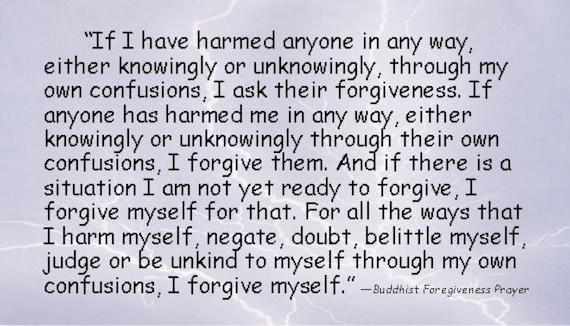 Gebet vergebung