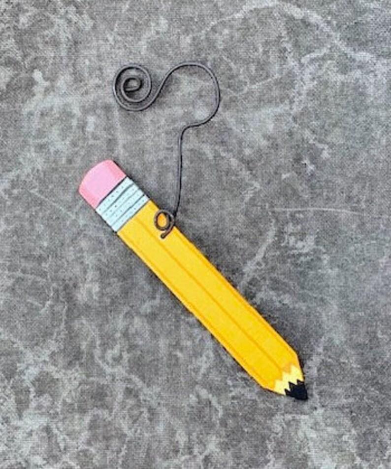 OM52 Pencil OrnamentParty FavorGift Tag