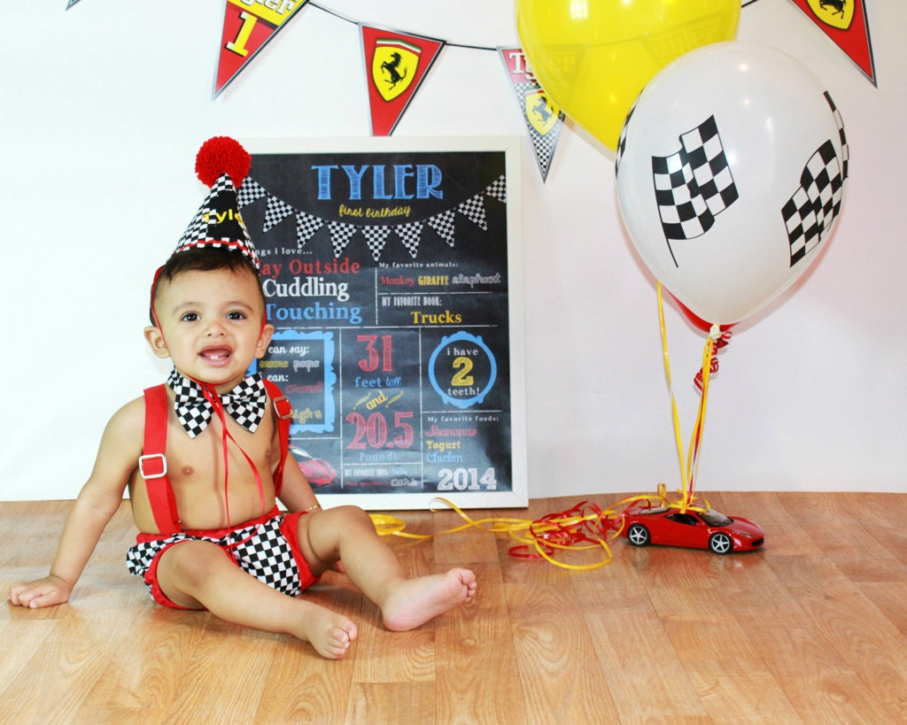 Race car cake smash outfit boy first birthday outfit cars ...
