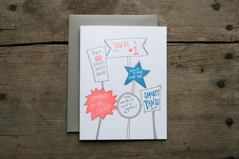 Six Pack of Letterpress Cards Life/'s Special Moments