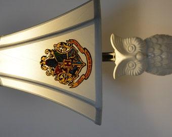 Harry Potter Lamp - Hogwarts Crest
