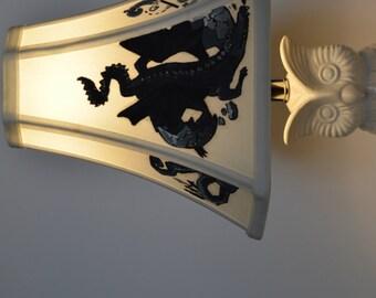 Harry Potter Lamp - Chapter Headings