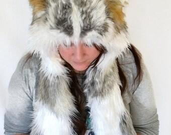 Custom Husky Scoodie. Spirit Hood.