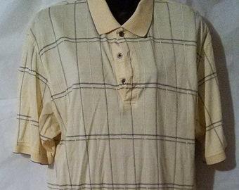 BIG FALL SALE-80s Vintage Izod Golf-Lacoste Polo Shirt-46