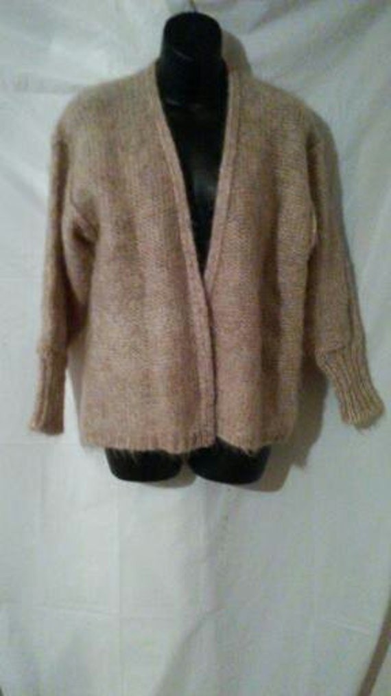 4a3ce4fd50 BIG ESTATE SALE-80s Vintage Mohair Wool Cardigan