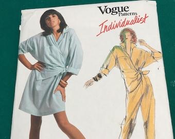 9a72fd805a7d Vintage 80 s Vogue  1703 Sewing Pattern
