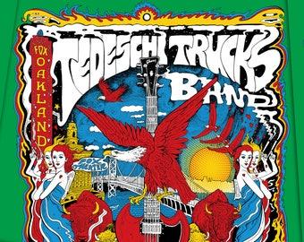 Tedeschi Trucks Band Hard Working Americans 18x24 Artist proof signed