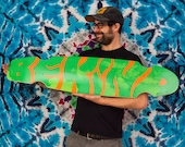 1/1 BE KIND Longboard Long Board Limited Edition By Joshua Marc Levy