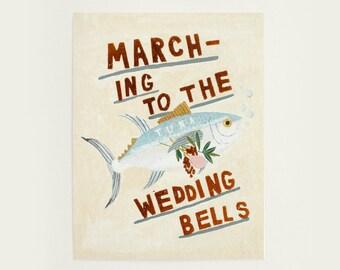 Wedding Bells - Greeting Card