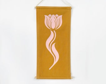Tulip Banner in Yellow *MADE TO ORDER