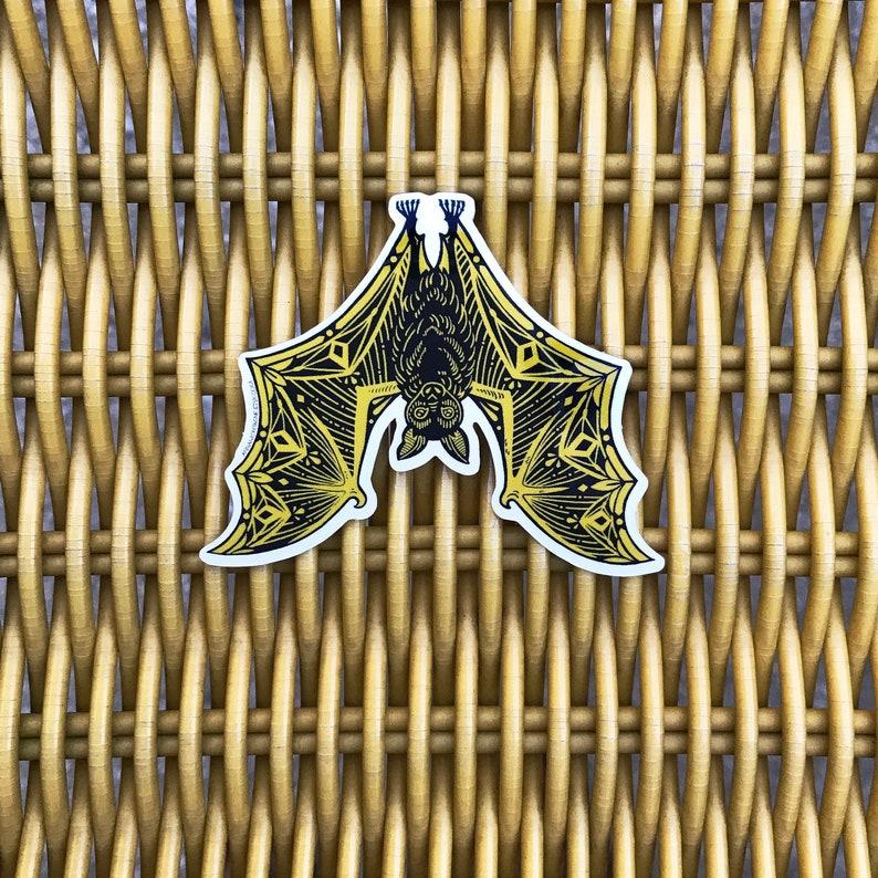 Flying Fox  Bat Sticker image 0