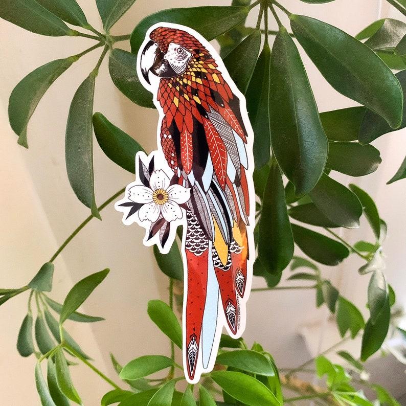 Parrot Sticker image 0