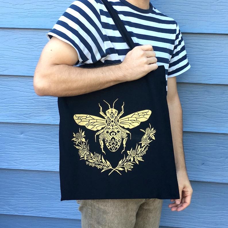 Honey Bee Tote Bag image 0