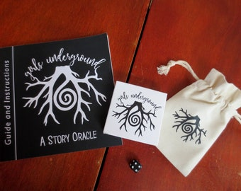 The Girls Underground Story Oracle - Divination Cards - Deck and Guidebook