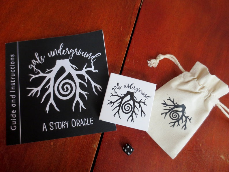 The Girls Underground Story Oracle  Divination Cards  Deck image 0