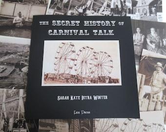 Carnival Talk Signed Book & Postcards Set - Unique 1930's Photos