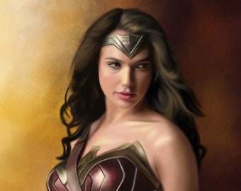 Wonder Woman - 10x13 giclèe