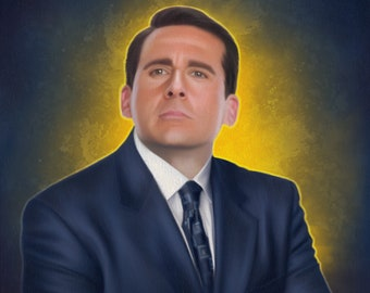 The Office: Character Portrait - 8 x 10 giclèe