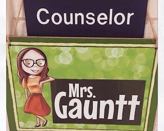 Custom Teacher Name Sign / Bedroom Sign