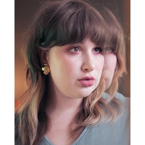 Joan Rivers Gold Urn Earrings - image 5
