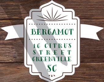 Bergamot Font Family OTF TTF Cricut Cutting Silhouette