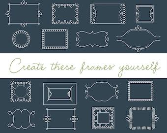 Emily Lime Font -  Frame Builder Version