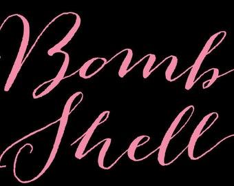 Bombshell Pro Font OTF TTF Calligraphy Script Cursive