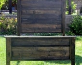 Rustic Wood Bed 78 quot Tall Boy By Foo Foo La La