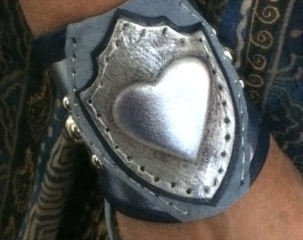 Soldier of LoVe Leather Cuff