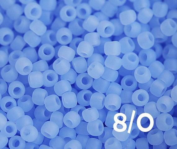10g Size 8//0 Ceylon Violet Toho Japanese Seed Beads 3.0 mm